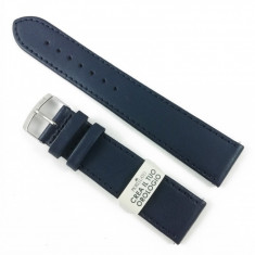 Curea de ceas Albastra din piele naturala Morellato - 20mm - C3237