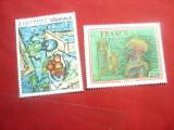 2 Timbre 1976 Franta Pictura de Carzou si Vlaminck