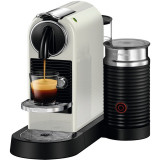 Espressor Nespresso CitiZ & Milk White D122-EU-WH-NE, 19 bari, 1720 W, 1 l, Alb + 14 capsule cadou