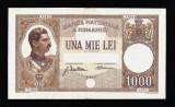 Bancnota 1000 Lei 1934 , Carol 2. Piesa superba si foarte rara in aceasta stare!