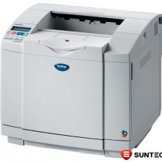 Cumpara ieftin Imprimanta laser color Brother HL-2700CN (retea) cu OPC belt zgariat printeaza cu dungi