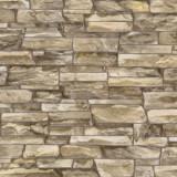 Tapet 3D, imitatie de piatra, maro, spuma, bucatarie, HC11026-27