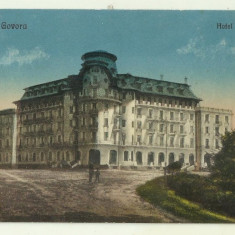 cp Govora : Hotel Palace - anii 1920