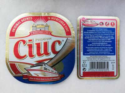 Etichete bere - CIUC - Miercurea Ciuc  2007  . foto