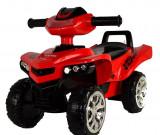 ATV pentru copii cu sunete si lumini Super Race Red, Baby Mix