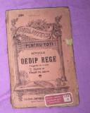 Oedip rege : tragedie în 5 acte / Sofocle prima trad. rom E.  Aslan