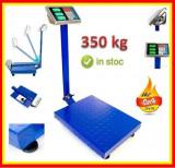 CANTAR ELECTRONIC PLATFORMA 350 KG, BRAT RABATABIL, TABLA STRIATA