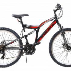 Bicicleta Mtb Kreativ 2643 457mm Negru Rosu 26