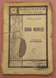 Doua Nuvele. Biblioteca Minerva Nr. 44 - Emile Zola