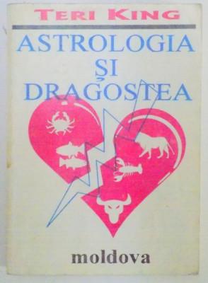ASTROLOGIA SI DRAGOSTEA de TERI KING , 1993 foto