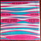 LP SELECTIUNI OPERETA 1975: FLORIN COMISEL-SOARELE LONDREI/VIOREL DOBOS-NAUSICAA, VINIL