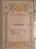 Actiuni vechi Imobiliara 1906