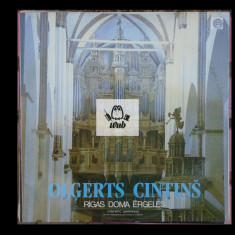 Orga Catedralei din Riga - disc vinil  in stare excelenta