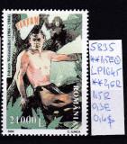 2004 100 de ani de la nasterea lui Johnny Weissmuller LP1645 MNH