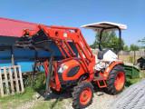 Tractor nou, 4x4 Kioti de 35CP sau 40/45 CP , Incarcator fata cu cupa, cabina