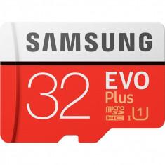 Card de memorie Samsung MB-MC32GA/EU EVO Plus 32GB Class 10 UHS-I + Adaptor SD