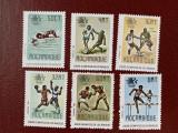 Mozambic - Timbre sport, jocurile olimpice 1984, nestampilate MNH, Nestampilat