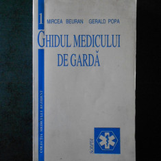 MIRCEA BEURAN - GHIDUL MEDICULUI DE GARDA