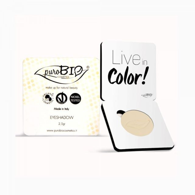 Fard pleoape mat Banana n.11 - PuroBio Cosmetics