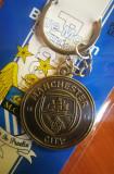 Breloc tema SPORT echipa fotbal Manchester si ambalaj  cadou