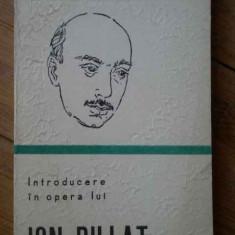 Introducere In Opera Lui Ion Pillat - Cristian Livescu ,303678
