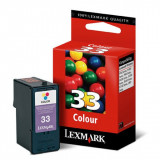 Lexmark 18CX033E (33) cartus cerneala color 285 pagini