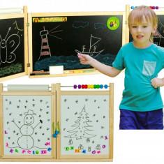 Prima mea tabla scolara 2 in 1, cu accesorii