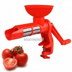 Storcator rosii manual Ertone MN503 10Kg/h cu Separator Seminte