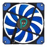Ventilator carcasa PC 120mm Negru/Albastru, Spacer SP-SF12-BL