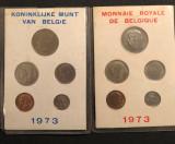 Cumpara ieftin Belgia 25 50 centi 1 5 10 franci 1973 ambele variante FR NL, Europa