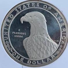 AMERICA, SUA 1 DOLLAR, DOLAR 1983, PROOF, AG.900