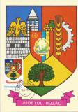 România, LP 928/1976, Stemele judeţelor (A-D), (uzuale), c.p. maximă, Buzău