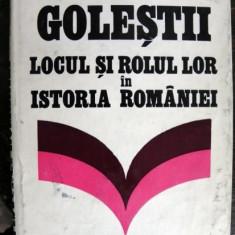 Golestii Locul si rolul lor in istoria Romaniei