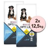 Cumpara ieftin Versele Laga Opti Life Adult Light Medium & Maxi 2 x 12,5kg, Versele-Laga