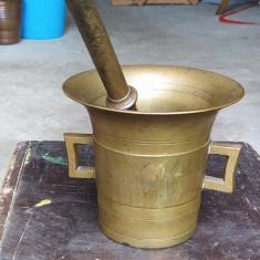 Mojar vechi bronz masiv 2,3 kg