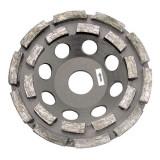 Disc diamantat dublu segmentat Proline pentru slefuire, 125 mm