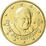 Vatican 2010  50 eurocenti / Pontificatul Papei Benedict XIV- Ratzinger UNC