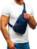 Geantă de umăr bărbați bleumarin Bolf T50