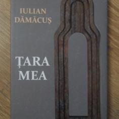 TARA MEA. POEZII - IULIAN DAMACUS, CUVANT INAINTE DE AL. CISTELECAN