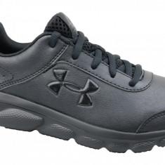 Pantofi alergare Under Armour GS Assert 8 3022697-001 pentru Copii, 35.5, 36, 36.5, 37.5, 38, 38.5, Negru
