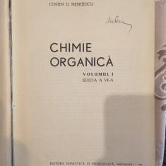 Costin Nenitescu, Chimie organica, volumul 1