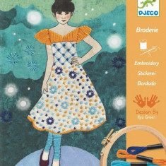 Atelier de brodat si cusut Djeco - Fashion midnight