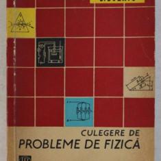 CULEGERE DE PROBLEME DE FIZICA de C . BUZATU , 1963