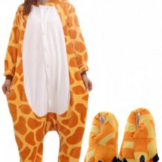PJS13-99 Set pijama kigurumi + papuci de casa