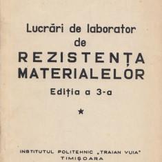 Hajdu, I. - LUCRARI DE LABORATOR DE REZISTENTA MATERIALELOR, Timisoara, 1976