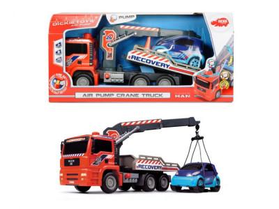 Camion de tractare cu macara, 31 cm Air Pump foto