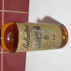 Ballantines 12 ani  Sticla de Colectie Rare and Collectable imbuteliata 2000