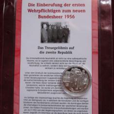 Austria Armată Federală - Argint 999 cu certificat