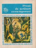Proză de scriitori contemporani