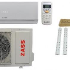 Aparat de aer conditionat Zass ZAC 09/ILN Inverter, 9000 BTU, Functie ionizare, Auto-Curatare, Cu consola (Alb)